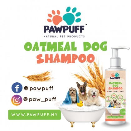 Dog shampoo Oatmeal